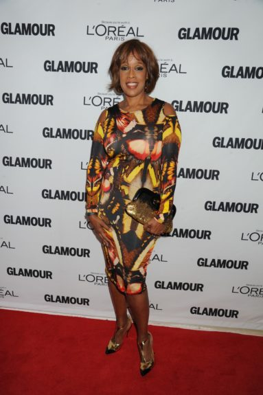 Gayle King attends the 2013 Glamour Women of the Year Awards, held at Carnegie Hall in New York City.