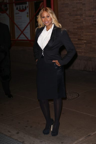 Beverly Johnson attending the 2013 Glamour Women of the Year Awards, held at Carnegie Hall in New York City.