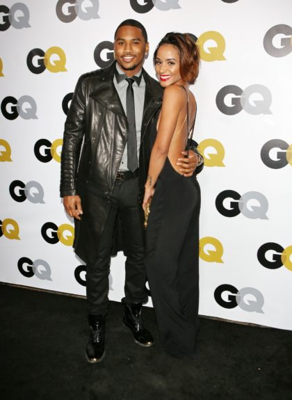 Trey Songz arriving at <em>GQ</em> Celebrates the 2013 Men of the Year at the Wilshire Ebell Theatre in Los Angeles.