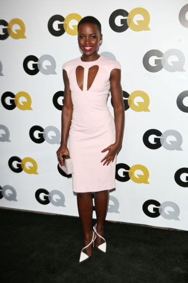 "November 12, 2013: Lupita Nyong'o arriving at GQ Celebrates the 2013 ""Men of the Year"" at the Wilshire Ebell Theatre in Los Angeles. Mandatory Credit: Karl Larsen/INFphoto.com Ref: infusla-52"