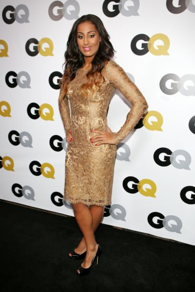 Skylar Diggins arriving at <em>GQ</em> Celebrates the 2013 Men of the Year at the Wilshire Ebell Theatre in Los Angeles.
