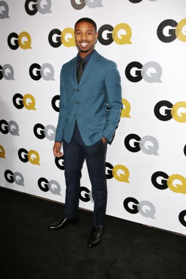 Michael B. Jordan arrives at <em>GQ</em> Celebrates the 2013 Men of the Year at the Wilshire Ebell Theatre in Los Angeles.