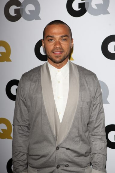 Jesse Williams arriving at <em>GQ</em> Celebrates the 2013 Men of the Year at the Wilshire Ebell Theatre in Los Angeles.