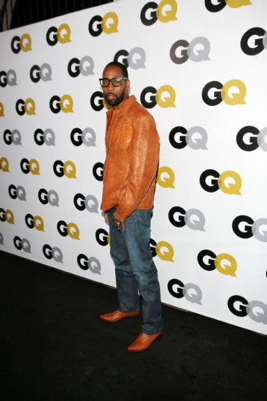 RZA arriving at <em>GQ</em> Celebrates the 2013 Men of the Year at the Wilshire Ebell Theatre in Los Angeles.