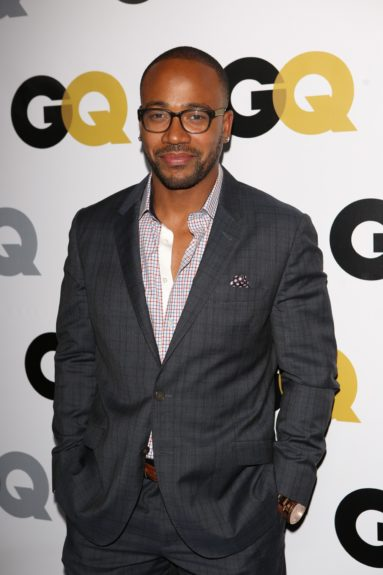 Columbus Short arriving at <em>GQ</em> Celebrates the 2013 Men of the Year at the Wilshire Ebell Theatre in Los Angeles.