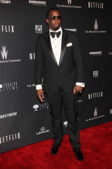 "Sean ""Diddy"" Combs attending the 71st Annual Golden Globe Awards' Weinstein Party at The Beverly Hilton Hotel in Beverly Hills."
