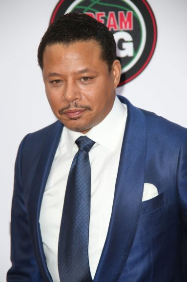 Terrence Howard at the 45th annual NAACP Image Awards