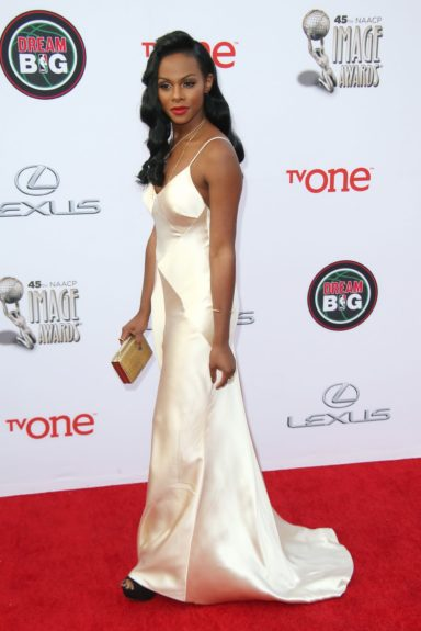 Tika Sumpter at the 45th annual NAACP Image Awards