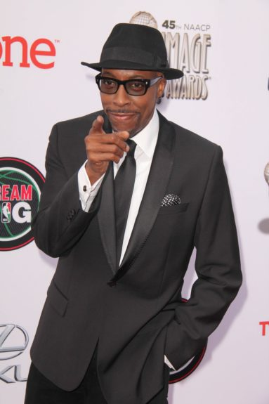 Arsenio Hall at the 45th annual NAACP Image Awards