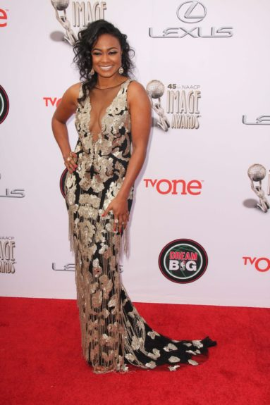 Tatyana Ali at the 45th annual NAACP Image Awards