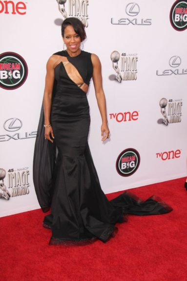 Regina King at the 45th annual NAACP Image Awards