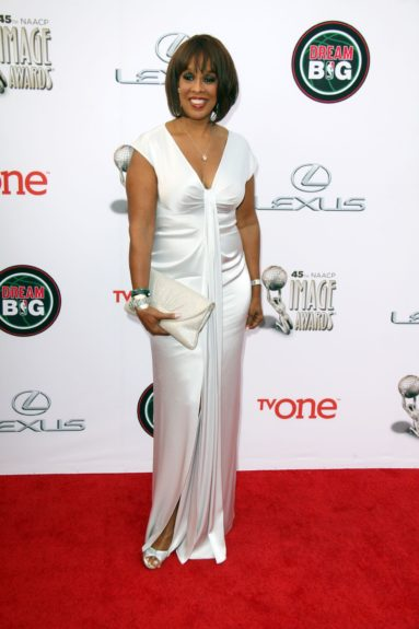 Gayle King at the 45th annual NAACP Image Awards