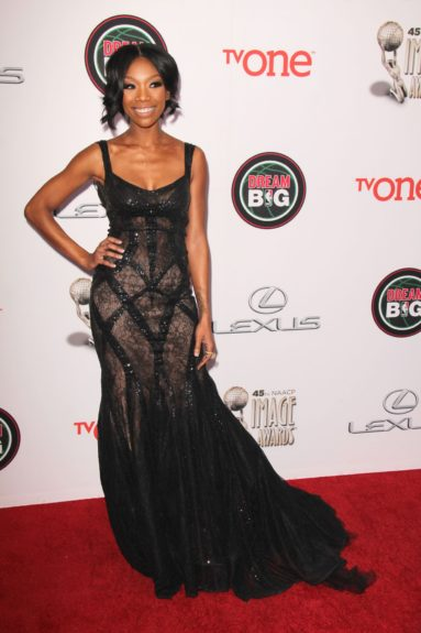 Brandy Norwood at the 45th annual NAACP Image Awards