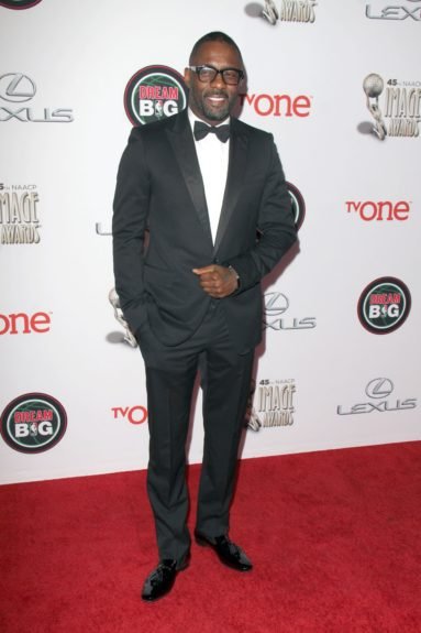Idris Elba at the 45th annual NAACP Image Awards