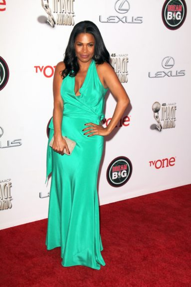 Nia Long at the 45th annual NAACP Image Awards