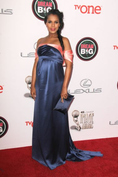 Kerry Washington at the 45th annual NAACP Image Awards