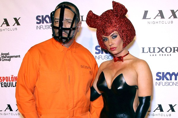 hosting a party at club lax ice t went as hannibal lector from silence