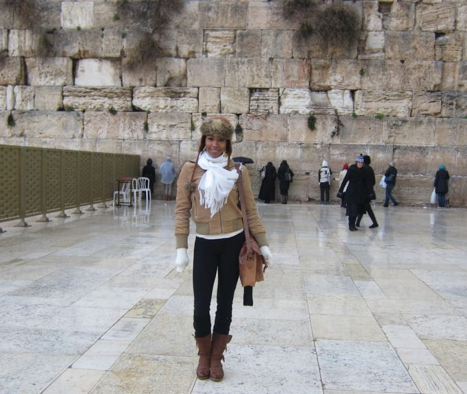 Western wall (photo by Teri Johnson)