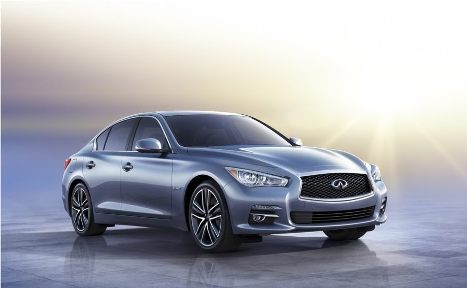 Infinity drops the G-Series name for the all-new Q50