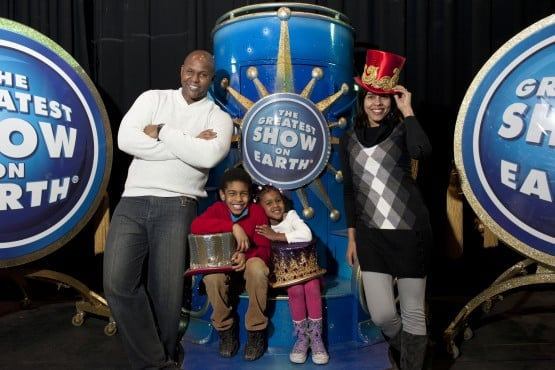 Johnathan and Priscilla say they are blessed to be able to spend so much time with their children working and traveling with the circus.