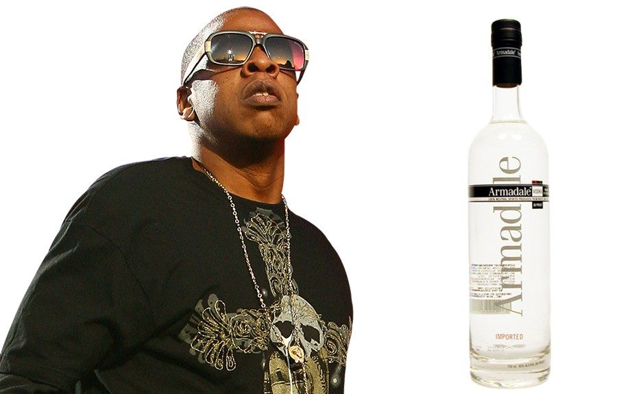 Jay-Z and then-partner Dame Dash acquireddistribution rights to Armadale Vodka in 2002, but we haven't heard the new dad say much about the spirit since then.