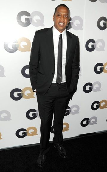 """Jay-Z at the 16th Annual GQ """"Men Of The Year"""" Party."""