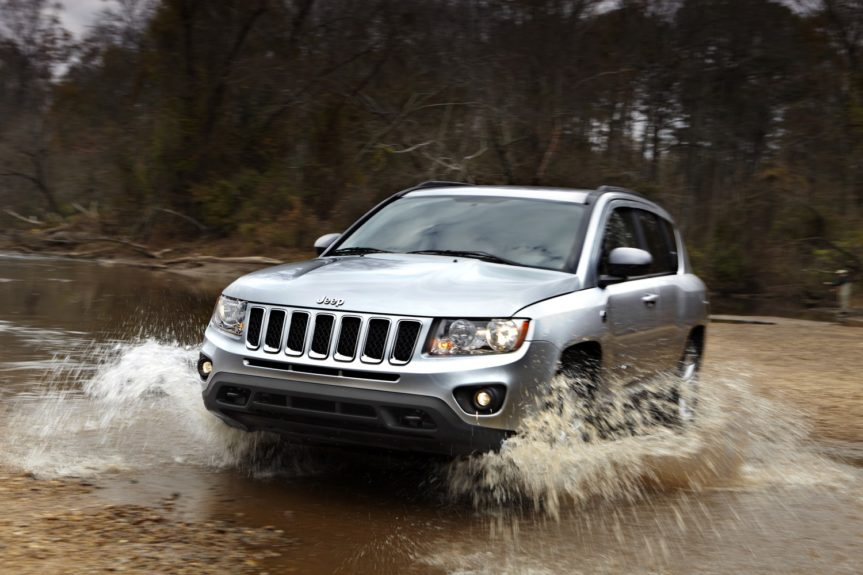 Jeep Compass Sport :outfitted with a 4-cylinder engine runs around $1,118 annually.
