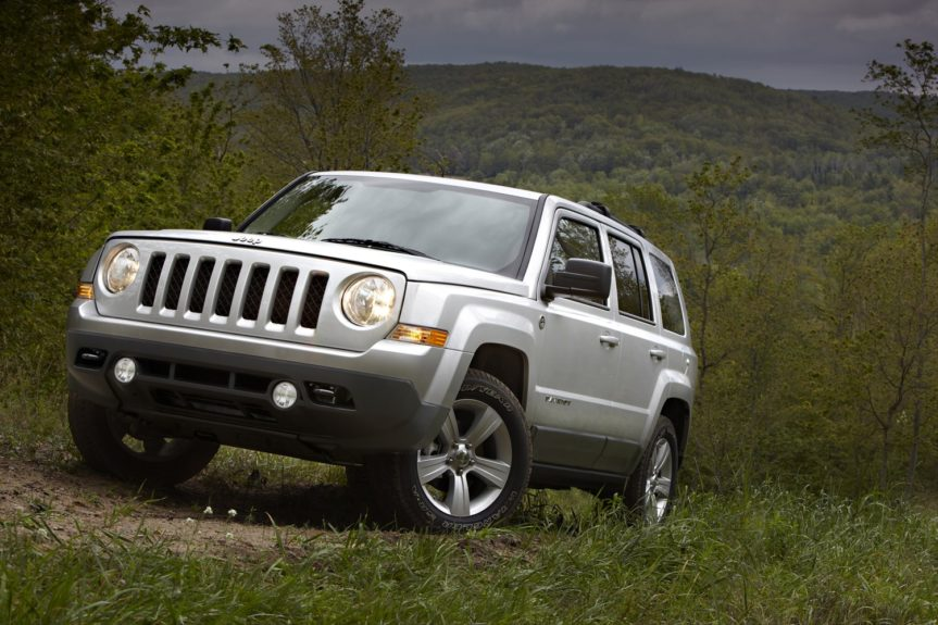 Jeep Patriot Sport: with a 4-cylinder runs around $1,114 annually.