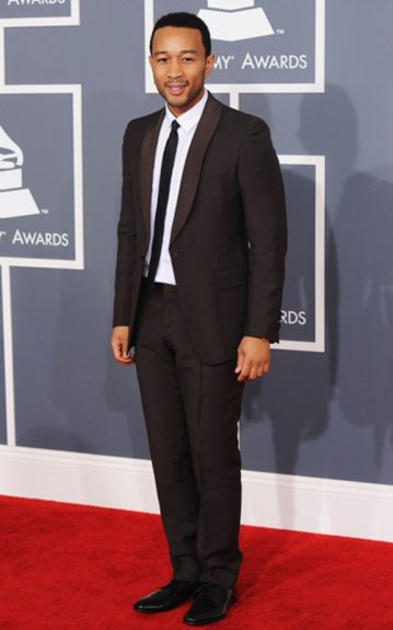 John Legend at the 54th Annual GRAMMY Awards.