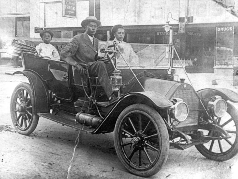 <strong>John and Loula Williams and family</strong>.  The Williamses owned a successful auto shop a popular confectionery, residential quarters, rental space for attorneys offices and an 800-seat movie theater.