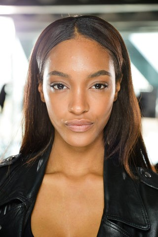 Jourdan Dunn backstage at the Christopher Kane Fall 2013 show. Photo: Filippo Fortis / InDigital | GoRunway.com via Style.com