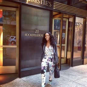 June Ambrose gave us a fashion treat on her Instagram as she posed it up rocking a Phillip Lim tank and trousers, a striped shirt from the brand, and Jean-Michel Cazabat pumps. Photo Credit: Instagram