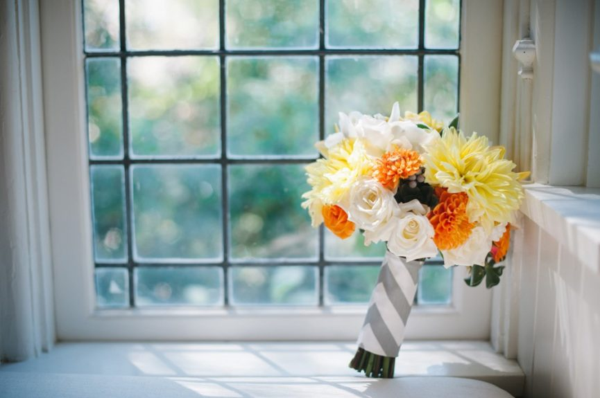 The flowers for the bride-to-be