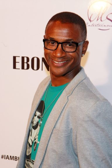 Tommy Davidson comes out to celebrate Kevin Hart's 35th birthday during the BET Experience weekend.