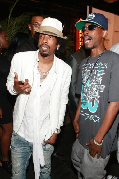 Big Gipp and Kuruptcome out to celebrate Kevin Hart's35thbirthdayduringthe BET Experience weekend.