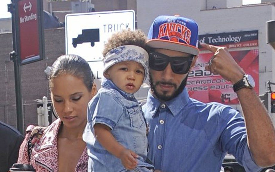 Swizz Beatz is grooming his youngest son, Egypt, to become a loyal Knicks fan at an early age allowing him to tag along to games every chance he gets