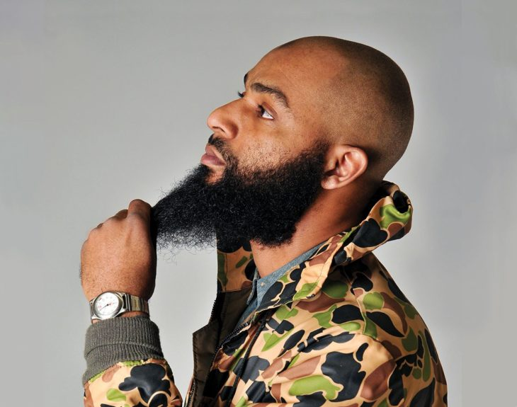 """<p> <strong>On that awkward stage:</strong> """"I've often been asked, 'How did you grow out your beard?' Going through the 'patchy' stage happens, but once you get past that, it's all good.""""<em>—Hamid Holloman, Philadelphia</em></p>"""