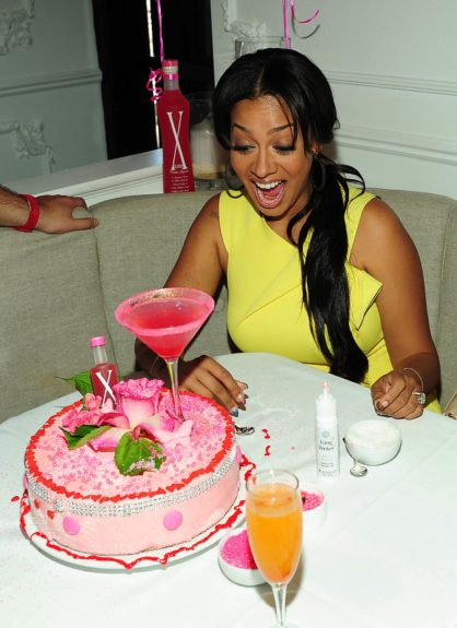 La La Anthony celebrated her birthday in style with X-Rated Fusion Liqueur at an exclusive brunch for friends and media at Bagatelle in West Hollywood to kick off the 2012 BET Awards weekend.