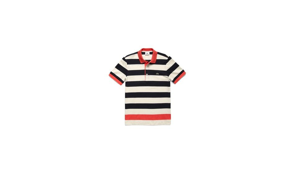 Lacoste Engineered Strip Polo, $89 at parkandbond.com