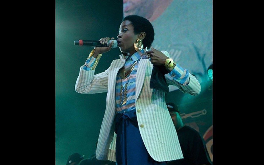 Lauryn Hill rocked the stage at New York's HOT 97 Summer Jam Sunday night.