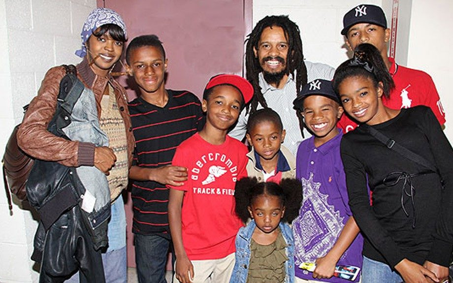 Lauryn Hill and her children rock the stage during Rock the Bells