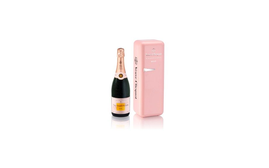 Pop a bottle to go in style with Mom and keep it chilled with a Veuve Clicquot Rosé Le Fridge Rosé set, $70.00 at ebuywines.com