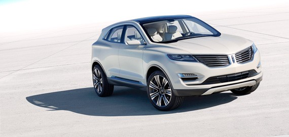 Lincoln MKC Concept will the latest luxury compact crossover to join the field