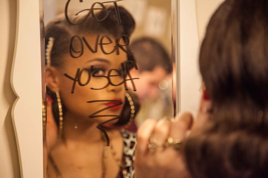 Andra Day leaves herself an important message