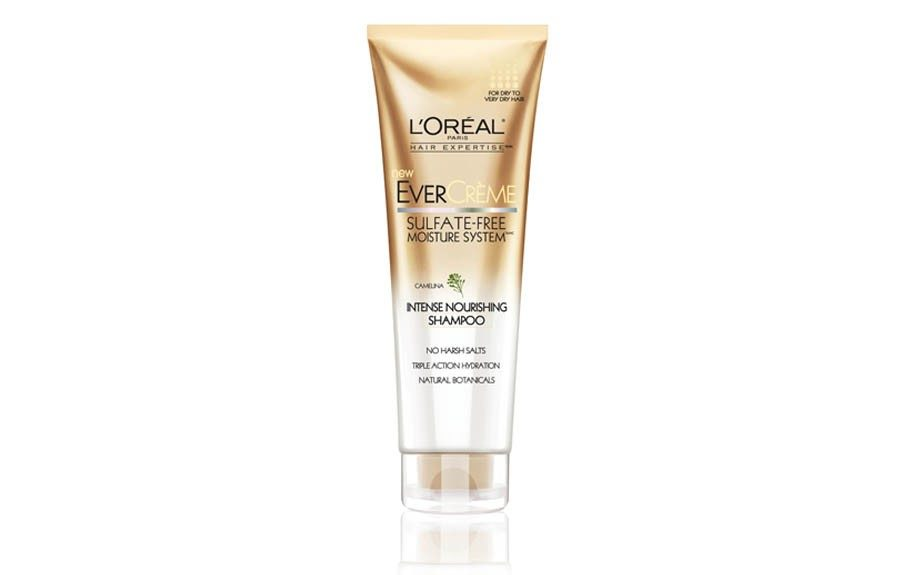 HAIR – Co-wash your 'do with this one this summer. Your scalp will thank us! L'Oreal Evercreme Intense Nourishing Shampoo, walgreens.com, $7.99