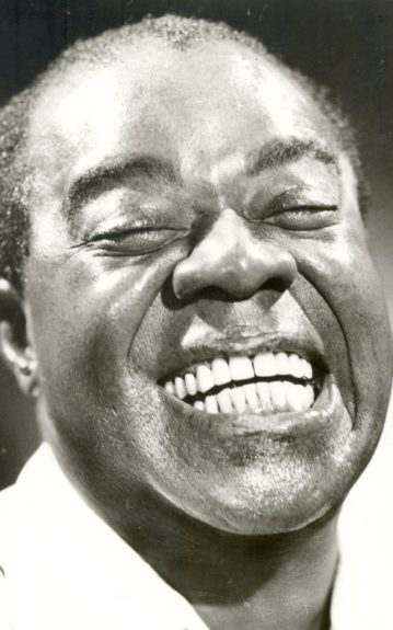 Louis Armstrong (1901-1971), jazz trumpeter from New Orleans, inspired legions of players in his wake.