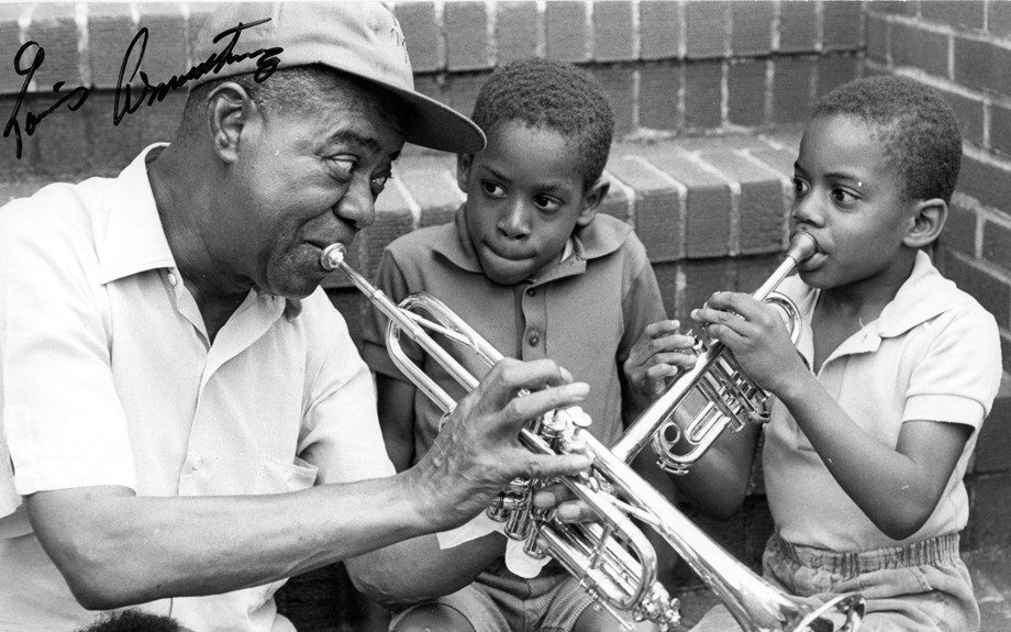 Image result for louis armstrong, jazz ambassador