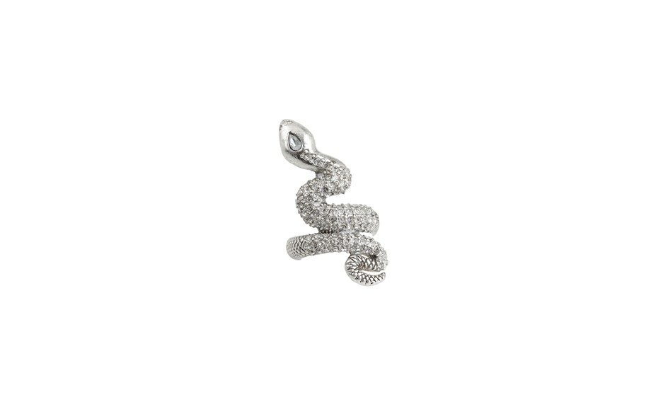 Lucky Pave Snake Ring, $36 at Zappos.com