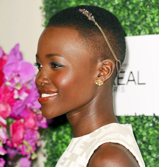 <strong>Put an accessory on it:</strong> Lupita rocking a chic headband on her short do started the cute trend this year, and we love it.