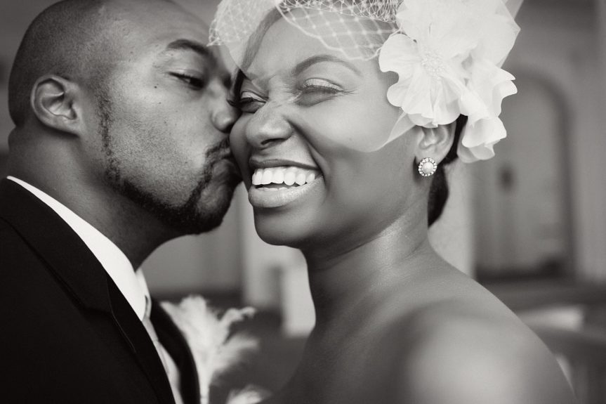 We're so happy for this newlywed couple!
